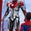 Hot Toys MMS427D19 SPIDER-MAN: HOMECOMING - IRON MAN MARK XLVII thumbnail 7