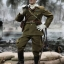 3R JP639 WWII Imperial Japanese Army 32ND ARMY 24TH DIVISION - FIRST LIEUTENANT SACHIO ETO thumbnail 8