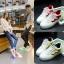 รองเท้ามีไฟ รองเท้า LED สีขาว มีแถบสีเหลืองดำ เปลี่ยนสีได้ 11 สี สินค้าพรีออเดอร์ thumbnail 9