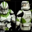 SIDESHOW STAR WARS - Militaries Or Star Wars: 442nd SIEGE BATTALION clone trooper thumbnail 7