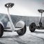 Mini Segway Self Balancing Scooter White thumbnail 7