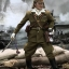 3R JP639 WWII Imperial Japanese Army 32ND ARMY 24TH DIVISION - FIRST LIEUTENANT SACHIO ETO thumbnail 1