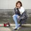 [มีหลายสี] รองเท้าบูทยีนส์ขาดแฟชั่นผู้หญิง หัวแหลมส้นสูง ซิปด้านใน บูทยาวเหนือเข่า ส้นสูง 3.5 นิ้ว สวยสไตล์เกาหลี thumbnail 1