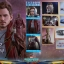 Hot Toys MMS421 GUARDIANS OF THE GALAXY VOL.2 - STAR-LORD (DELUXE VER.) thumbnail 2