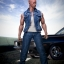 ACPLAY ATX-034 1/6 Fast and furious: Dominic Toretto denim vest suit thumbnail 1