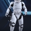 Hot Toys MMS367 STAR WARS: THE FORCE AWAKENS - FINN (FIRST ORDER STORMTROOPER VERSION) thumbnail 5