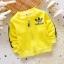 Pre-order เสื้อ / แพ็คละ 4 ตัว / เหลือง ( สินค้าลิขสิทธิ์ ) thumbnail 1