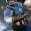 Hot Toys MMS240 CAPTAIN AMERICA: THE WINTER SOLDIER - CAPTAIN AMERICA (GOLDEN AGE VERSION) thumbnail 2