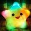 หมอนเรืองแสง หมอนมีไฟรูปดาว 5 แฉก กระพริบสลับสี thumbnail 1