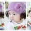 หมวกลายดอกไม้ฟู thumbnail 3