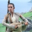 Hot Toys MMS377 STAR WARS: THE FORCE AWAKENS - REY (RESISTANCE OUTFIT) thumbnail 10