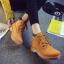 [มีหลายสี] รองเท้าบูทผู้หญิงมาร์ติน หนังแท้+pu นิ่ม ผูกเชือก ทรงหุ้มข้อ สวย เท่ แฟชั่นสไตล์อังกฤษ ทรงย้อนยุค thumbnail 2