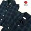 เสื้อเชิ้ตลายสก๊อตผู้ชายสีเขียว ผ้านำเข้าจากญี่ปุ่น thumbnail 1