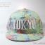 หมวกแก๊ปแฟชั่น ลาย Tokyo สีเขียว thumbnail 1