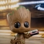 Hot Toys COSB360 GUARDIANS OF THE GALAXY VOL. 2 - GROOT SET thumbnail 9