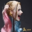JXTOYS JX-012 Clown girl Hair plastic hair double whip headsculpt thumbnail 10