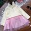 Pre-order เสื้อลูกไม้แขนยาว / แพ็คละ 5 ชุด / สีขาว thumbnail 5