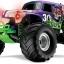 Grave Digger: 1/10 Scale Monster Jam Replica Monster Truck #3602A thumbnail 2