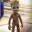 Hot Toys LMS004 GUARDIANS OF THE GALAXY VOL. 2 - GROOT (LIFE-SIZE) thumbnail 5