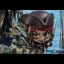 Hot Toys COSB373 PIRATES OF THE CARIBBEAN: DEAD MEN TELL NO TALES - JACK SPARROW (FIGHTING POSE VERSION) thumbnail 6