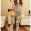 K1054 ชุดเสื้อกางเกงแบบแยกชิ้นสีเทา น่ารักๆจ้าา thumbnail 1