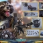 Hot Toys MMS411 GUARDIANS OF THE GALAXY VOL.2 - ROCKET (DELUXE VERSION) thumbnail 2