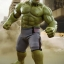 Hot Toys MMS287 AVENGERS: AGE OF ULTRON - HULK DELUXE SET thumbnail 4