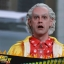 Hot Toys MMS380 BACK TO THE FUTURE PART II DR. EMMETT BROWN (SE) thumbnail 8