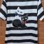 S134 เดรสลายขวางขาวดำ งานปักลายแมว น่ารักมากค่ะ (มือ2 สภาพดี) thumbnail 2