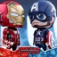 Hot Toys COSB323 CAPTAIN AMERICA(L), COSB324 IRON MAN MARK XLVI (L) thumbnail 4