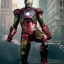 Hot Toys MMS196 THE AVENGERS - BATTLE DAMAGED MARK VII (MOVIE PROMO EDITION) thumbnail 7