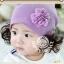 หมวกลายดอกไม้ฟู thumbnail 1