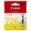ตลับหมึกอิงค์เจ็ต Canon 726 Y สีเหลือง หมึกแท้ 100% thumbnail 1