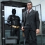 HOT TOYS MMS236 The Dark Knight - Batman Armory with Bruce Wayne and Alfred Pennyworth thumbnail 4