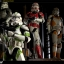 SIDESHOW STAR WARS - Militaries Or Star Wars: 442nd SIEGE BATTALION clone trooper thumbnail 10