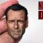 T-10 Bruce Willis Battle Damaged Head Sculpture (Never DIE) thumbnail 5