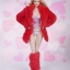 Fire Girl Toys FG053 Sexy high waist fur coat set thumbnail 3