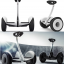 Mini Segway Self Balancing Scooter White thumbnail 2