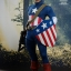 Hot Toys MMS205 CAPTAIN AMERICA: THE FIRST AVENGER - CAPTAIN AMERICA (STAR SPANGLED MAN VERSION) thumbnail 1