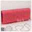 bs0008 กระเป๋าคลัช สีแดง กระเป๋าออกงานพร้อมส่ง ราคาถูกกว่าเช่า แบบสวยๆ ดูดีเหมือนดาราใช้ thumbnail 1