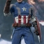 Hot Toys MMS240 CAPTAIN AMERICA: THE WINTER SOLDIER - CAPTAIN AMERICA (GOLDEN AGE VERSION) thumbnail 3