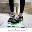 รองเท้ามีไฟ รองเท้า LED สีดำ มีลายเพ้นท์หลายสี เปลี่ยนสีได้ 11 สี สินค้าพรีออเดอร์ thumbnail 4