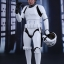 Hot Toys MMS418 STAR WARS: EPISODE IV A NEW HOPE - HAN SOLO (STORMTROOPER DISGUISE VERSION) thumbnail 1