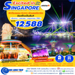 SIN08 : EXCITED IN SINGAPORE 3D2N (มกราคม - พฤษภาคม 2561)