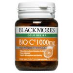 Blackmores Vitamins Bio C แบลคมอร์ส วิตามิน ไบโอซี (วิตามินซี) ขวดเล็ก 31 เม็ด