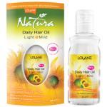 Lolane Natura Daily Hair Oil Light & Mild โลแลน เนทูร่า เดลี่ แฮร์ ออยล์ ไลท์ แอนด์ มายด์ สูตรบำรุงผมทำสี 65 มล.