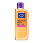 Clean&Clear คลีน แอนด์ เคลียร์ เอสเซนเชียล โฟมมิ่ง เฟเชียล วอช สบู่เหลว ล้างหน้า 100 มล.