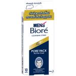 Men's Biore Porepack เมนส์บิโอเร พอร์แพ็ค 10 แผ่น