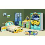ชุดห้องนอนเด็ก รุ่น Yellow Minibus