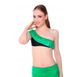 Ariel Green Glitter แบบไหล่เฉียงครึ่งตัว